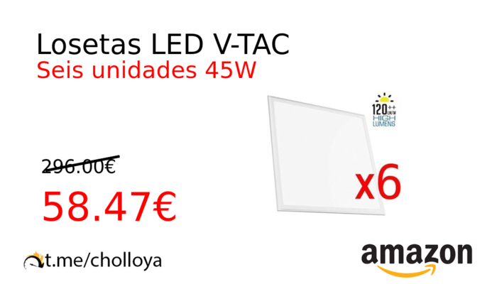 Losetas LED V-TAC