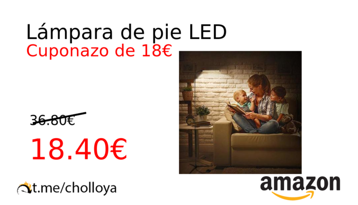 Lámpara de pie LED
