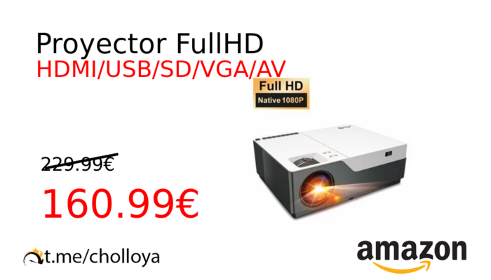 Proyector FullHD