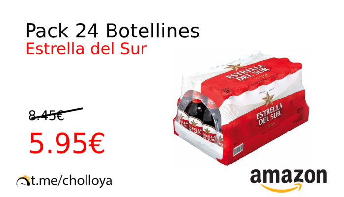 Pack 24 Botellines