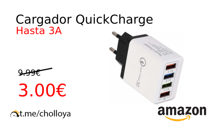 Cargador QuickCharge