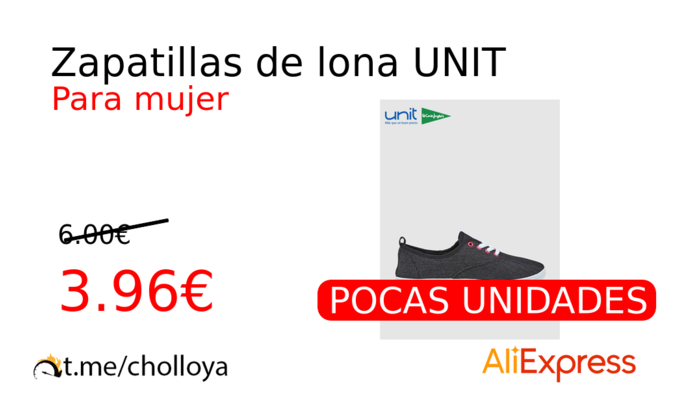 Zapatillas de lona UNIT