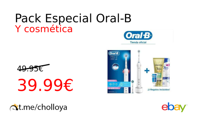 Pack Especial Oral-B