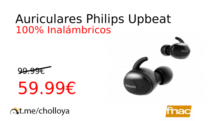 Auriculares Philips Upbeat