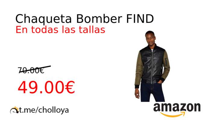 Chaqueta Bomber FIND