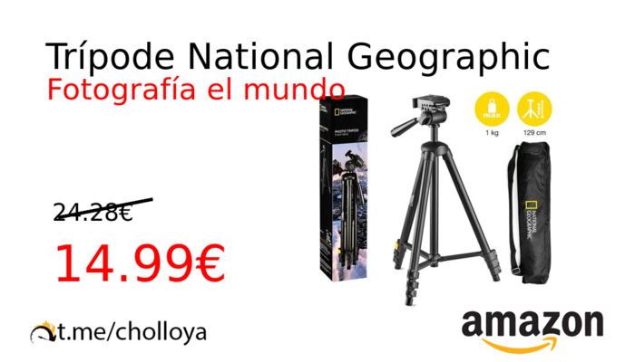 Trípode National Geographic