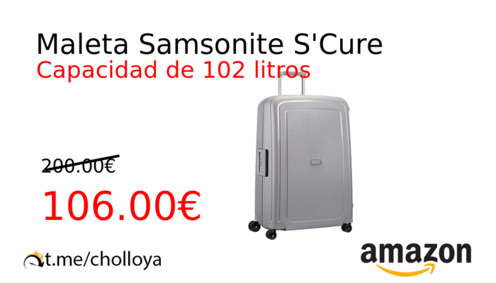 Maleta Samsonite S'Cure