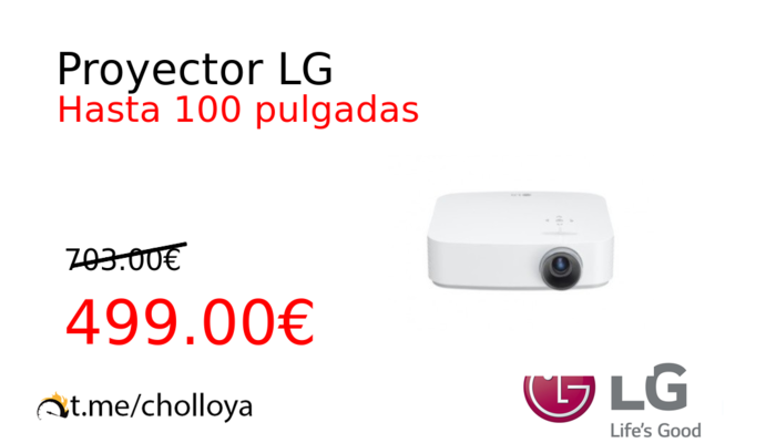 Proyector LG