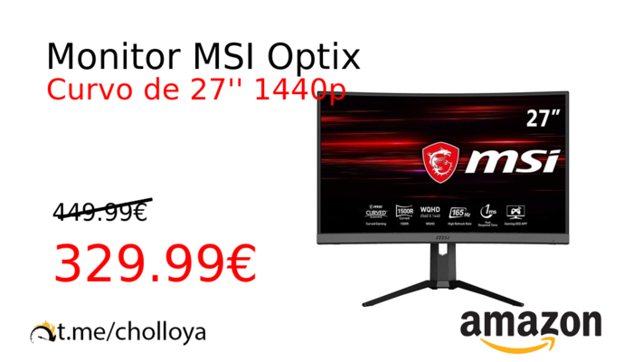 Monitor MSI Optix