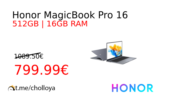 Honor MagicBook Pro 16