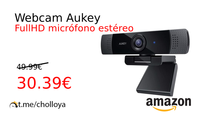 Webcam Aukey