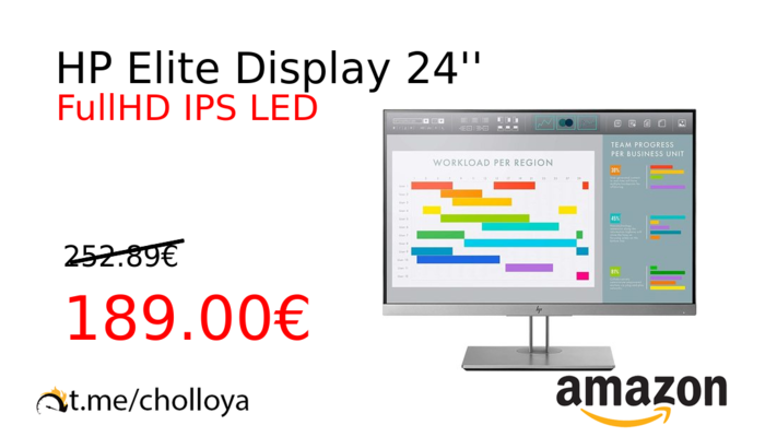 HP Elite Display 24''