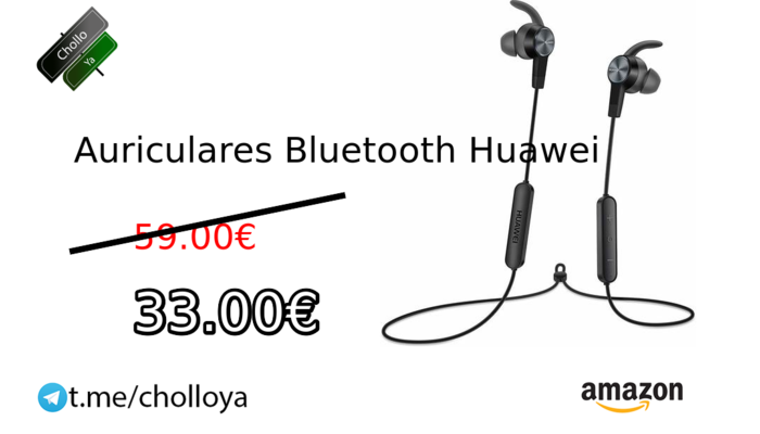 Auriculares Bluetooth Huawei