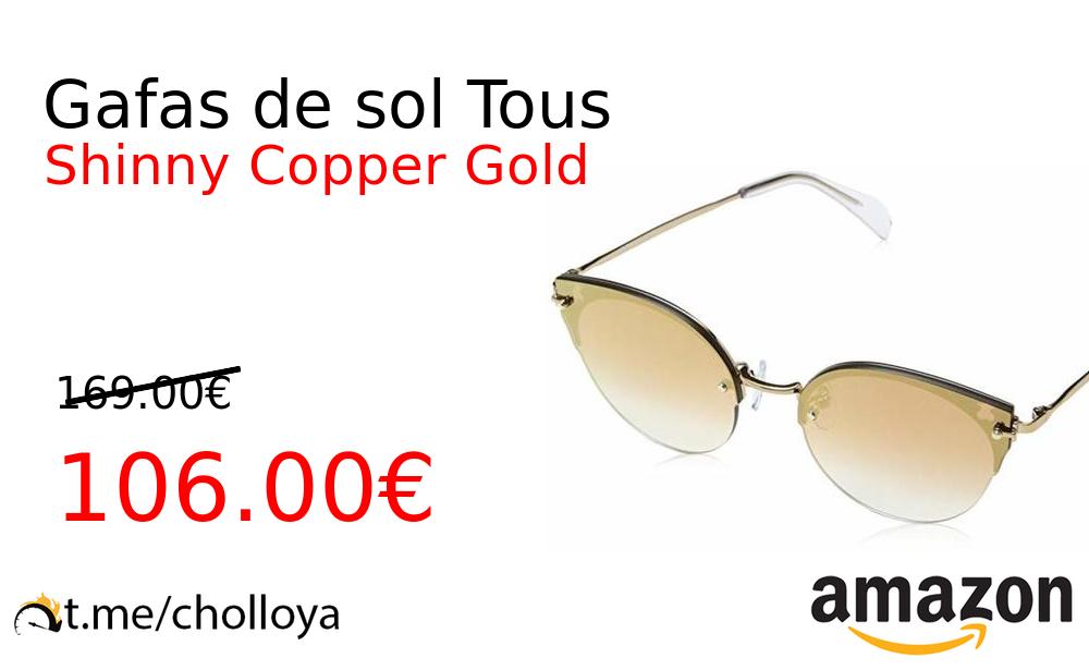 8b4bb38814 #Amazon ?? ?Precio Ya 106.00€❗ ? (PVP: +169.00€) ✨Con Tous acertarás  seguro. Regala o regalate estas gafas de sol Tous con un diseño increíble  sin marcos ...