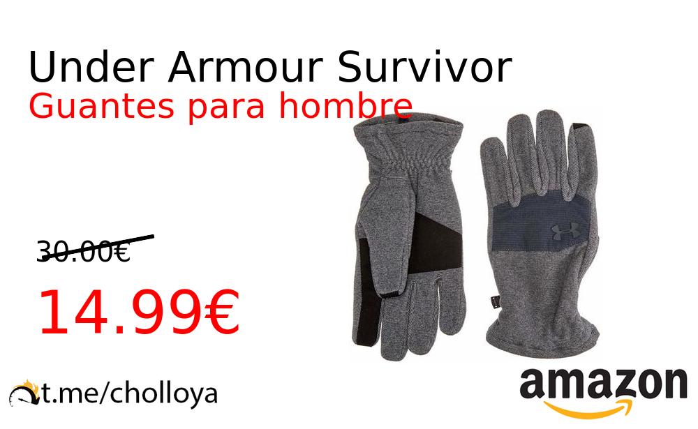 ventana Carretilla Alicia  Chollo YA! Under Armour Survivor