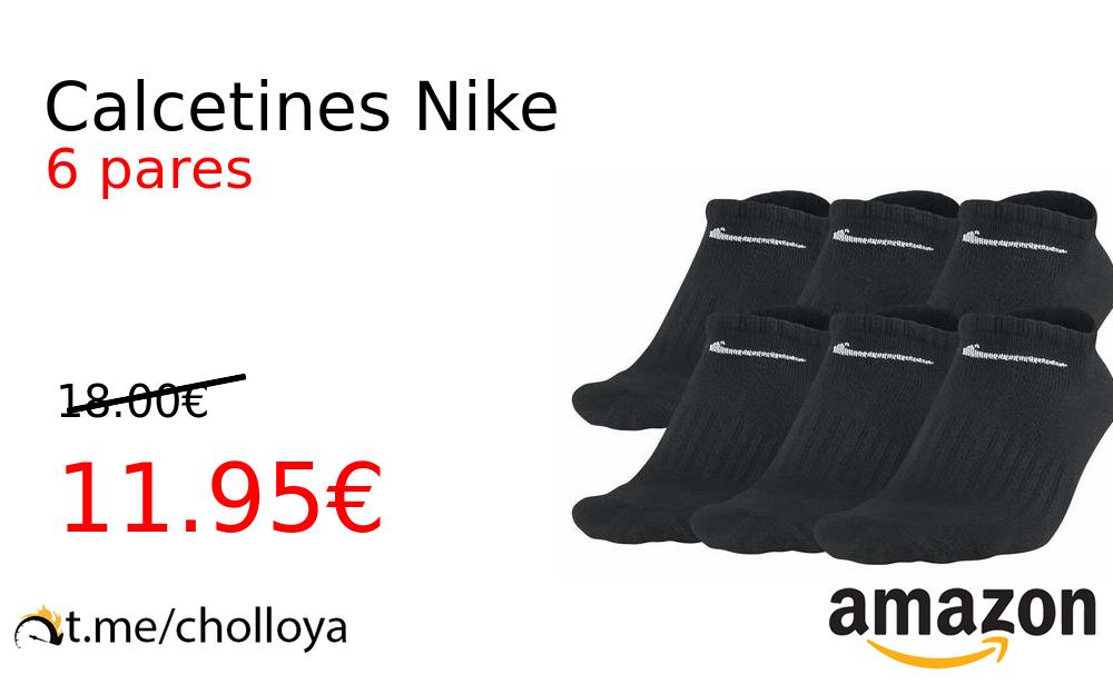 adyacente perturbación Museo Guggenheim  Chollo YA! Calcetines Nike